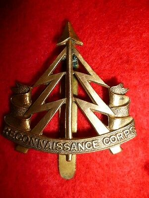 The Reconnaissance Corps WW2 Cap Badge KK 1925