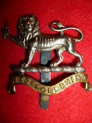 The Herefordshire Regiment Cap Badge, KK 1794