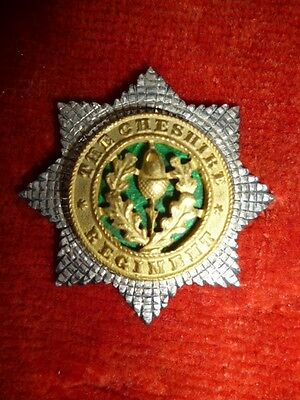 The Cheshire Regiment Officer's Cap Badge