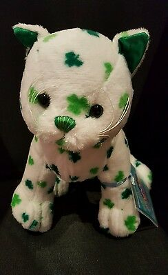 Webkinz CLOVER CAT - NWT -  IN HAND - SHIPS DAILY !!!
