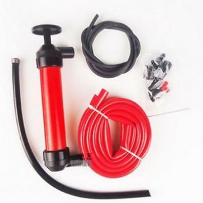 2016 Car Manual Pump Oil Extractor Plastic Oil Change Air Inflator Liquid Red YZ