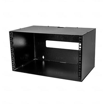 "Titan AV 6RU 19"" Wall Mount Server Rack Comms Cabinet Frame 300mm Deep"