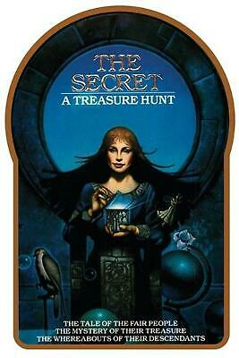 The Secret: A Treasure Hunt by Byron Preiss (English) Paperback Book Free Shippi