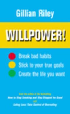 Willpower! by Riley, Gillian Paperback Book The Cheap Fast Free Post