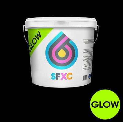 High Grade Phosphorescent Glow In The Dark Screen Printing Paste