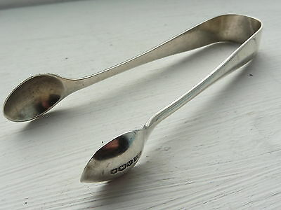 W & G Solid Silver Sterling Hallmarked sugar tongs Sheffield 1938 Antique 5