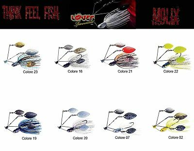 Esca Artificiale Molix Lover Spinnerbait 1/2oz Spinning Bass Mike Iaconelli RN