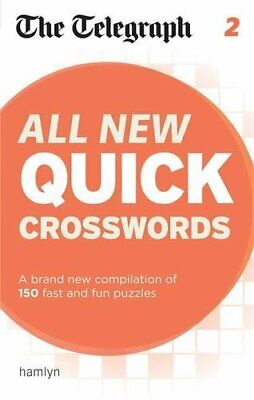 The Telegraph: All New Quick Crosswords 2 (The Telegraph Puz... by THE TELEGRAPH