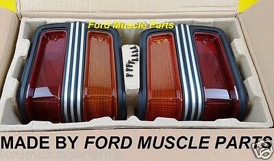 Ford Falcon  Xy Gt Ho  Rear Tail Light Housing Kit Brand New