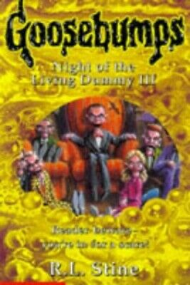 Night of the Living Dummy III (Goosebumps), Stine, R. L. Paperback Book The