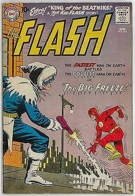 Flash #114 FN- 2nd CAPTAIN COLD Appearance