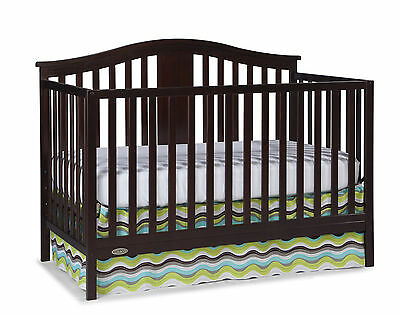Graco Solano 4-in-1 Convertible Crib with Mattress