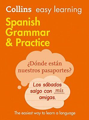 Easy Learning Spanish Grammar and Practice ... by Collins Dictionaries Paperback