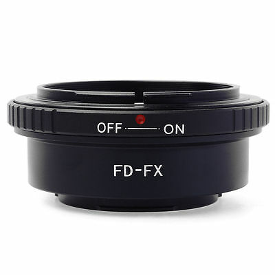 Adapter Ring For Canon FD Mount lens to Fujifilm Fuji FX X-Pro1 X-M1 X-T1 DC291