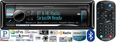 KENWOOD EXCELON CAR STEREO BLUETOOTH CD PLAYER PANDORA ANDROID AUX USB iHEART
