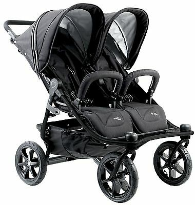 2016 Valco Baby Twin Tri Mode Duo X Compact All Terrain Double Stroller Night