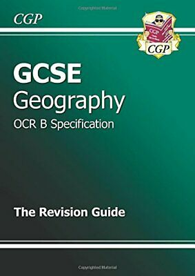 GCSE Geography OCR B Revision Guide, CGP Books Paperback Book The Cheap Fast