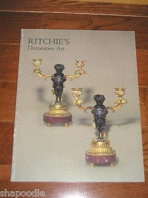 RITCHIE'S Art /Jewellery Auction Catalogs (2in1) May 97