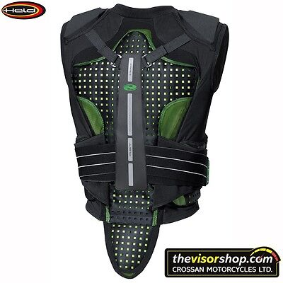 "Held ""KELTOR"" SAS-TEC Motorcycle Race BACK & CHEST Protector VEST (L large)"