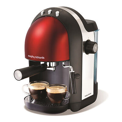 Morphy Richards 172002 Accents Espresso Coffee Maker with 1000w & 15-Bar