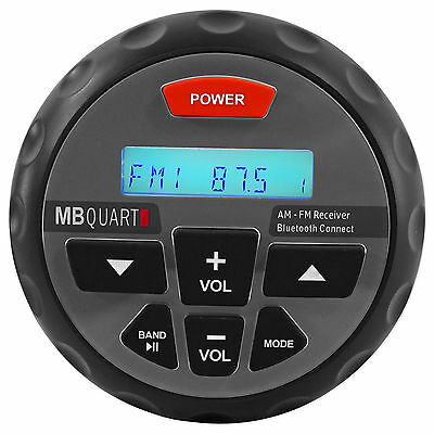 MB QUART Nautic GMR-1 Marine ATV Boat Stereo Digital Receiver Radio w/ Bluetooth