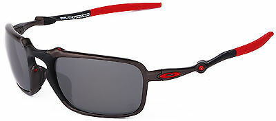 NEW Authentic OAKLEY Sunglasses BADMAN Scuderia Ferrari Polarized OO6020-07