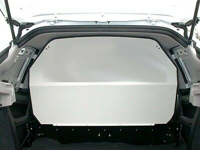 Van Guard Peugeot 206 Steel Full Solid Bulkhead Safety Protection Exterior