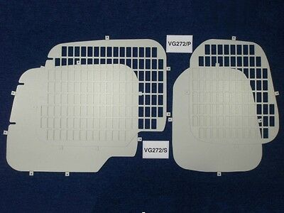 Van Guard Berlingo Partner 2008-On Rear Window Protection Safety Grill Punched