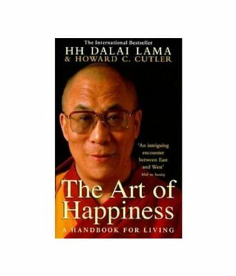 Art of Happiness: A Handbook For Living by Howard C. Cutler Book The Cheap Fast