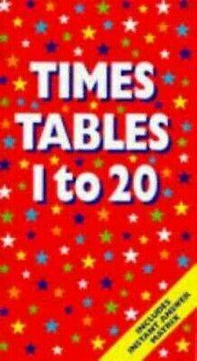 Times Tables 1 to 20 by n/a Book The Cheap Fast Free Post