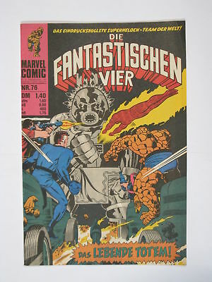 Fantastische Vier Nr.  76  Marvel Williams im Zustand (1-2). 66327