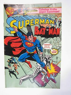 Superman Comic 1980/16  Ehapa im Zustand (1-2). 66831