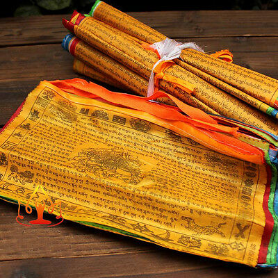 10x5 inch Tibet Tibten Buddhist Buddha Windhorse Prayer flags Buy 2 Get 1 Free