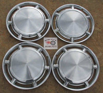 "1961 Dodge Lancer 13"" Wheel Covers, Hubcaps, Set Of 4 ~No Reserve~, ~Look~"