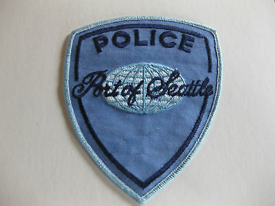 Port Of Seattle Police   Sew On Patch