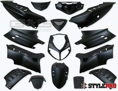 Disguise Kit Panel 15 Pieces in black Matte for Peugeot Speedfight 2