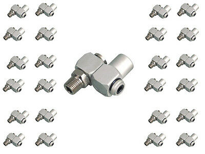 "(25) Swivel Connectors Air Tool Hose 1/4"" NPT"