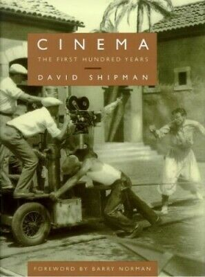 Cinema: The First Hundred Years by Shipman, David Paperback Book The Cheap Fast