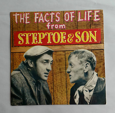 """1963 7"""" Single EP/ Vinyl Record. THE FACTS OF LIFE FROM STEPTOE & SON. NEP24169"""