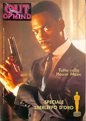"""[340] OUT ed. Italiana ed. Periodici 1988 in cop. Eddy Murphy n.  2 """"Out of Mind"""