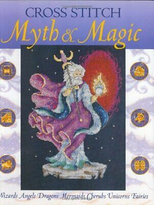 Cross Stitch Myth and Magic by Wentzler, Teresa Hardback Book The Cheap Fast