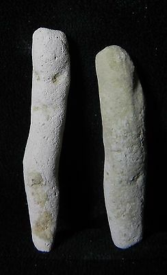 Zurqieh - Ancient Egypt . Lot Of Two  Ancient Ushabtis , 600 - 300 B.c