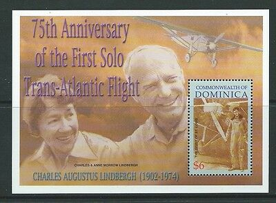 Dominica Sgms3233 2002 First Solo Trans-Atlantic Flight Mnh