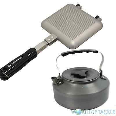 NGT Toastie Maker and 1.1 ltr Kettle Carp Fishing Camping Sandwich Toaster