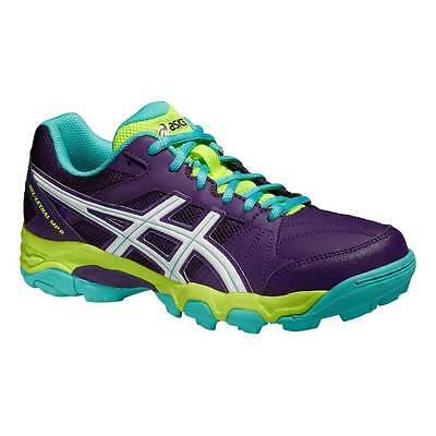 Asics Gel-Lethal MP 6 Womens Hockey Shoes Plum/White/Blue Green 2015