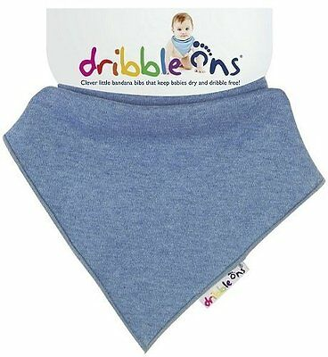 Dribble On's Baby Bib (Denim)