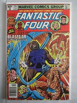 Fantastic Four Vol. 1 (1961-2012) #215 VF/NM