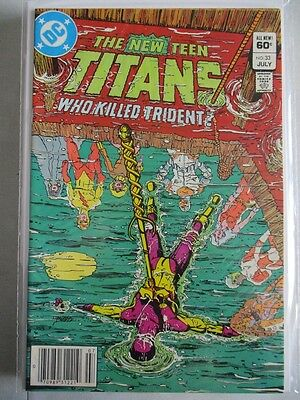 New Teen Titans (1980-1984) #33 NM-