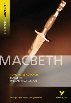 YNA Macbeth (York Notes Advanced) by Shakespeare, William Paperback Book