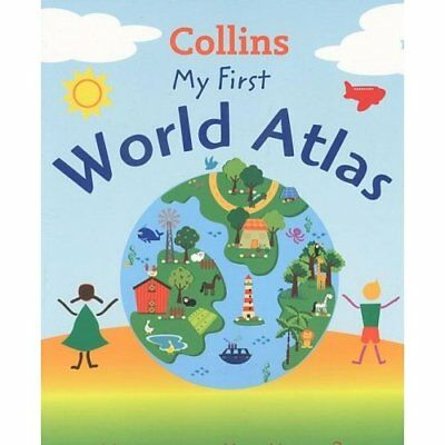 Collins My First World Atlas Book The Cheap Fast Free Post
